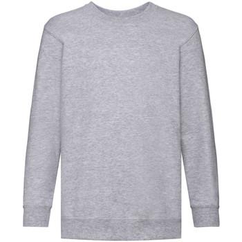 Textiel Kinderen Sweaters / Sweatshirts Fruit Of The Loom 62041 Heather Grijs