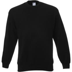 Textiel Heren Sweaters / Sweatshirts Universal Textiles Jersey Jet Zwart