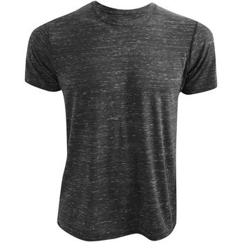 Textiel T-shirts korte mouwen Bella + Canvas CA3650 Houtskool Marmer