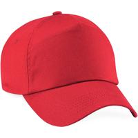 Accessoires Pet Beechfield Baseball Helder rood