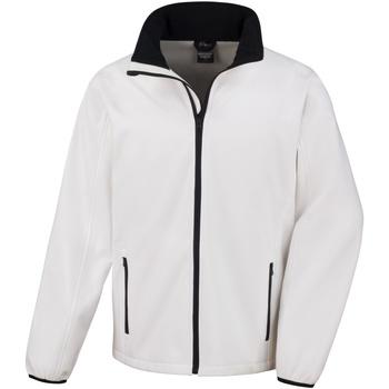 Textiel Heren Wind jackets Result Softshell Wit/zwart