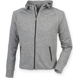 Textiel Heren Sweaters / Sweatshirts Tombo Teamsport Reflective Grijze Mergel