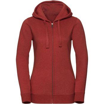 Textiel Dames Sweaters / Sweatshirts Russell Melange Baksteen rood gemêleerd