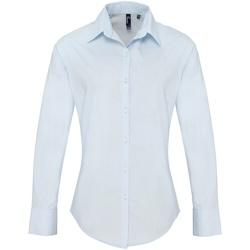 Textiel Dames Overhemden Premier Supreme Lichtblauw