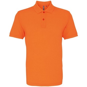 Textiel Heren Polo's korte mouwen Asquith & Fox AQ010 Neon Oranje