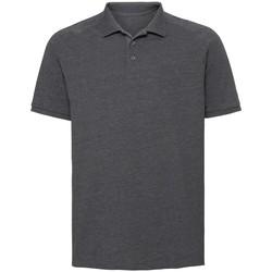 Textiel Heren Polo's korte mouwen Russell Jersey Grijze Mergel