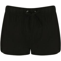 Textiel Dames Korte broeken / Bermuda's Skinni Fit Retro Zwart