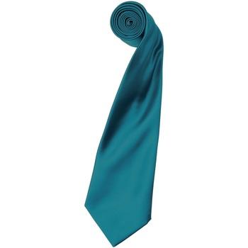Textiel Heren Krawatte und Accessoires Premier Satin Teal