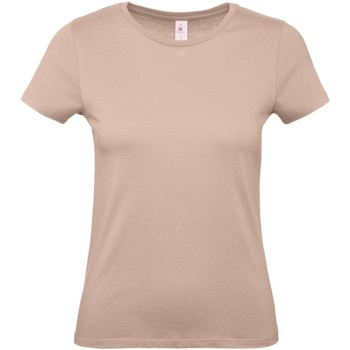 Textiel Dames T-shirts korte mouwen B And C E150 Duizendjarig Roze