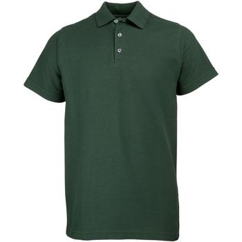 Textiel Heren Polo's korte mouwen Rty Workwear Heavyweight Fles groen