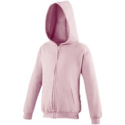Textiel Kinderen Sweaters / Sweatshirts Awdis JH50J Baby Roze