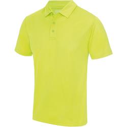 Textiel Heren Polo's korte mouwen Awdis JC040 Elektrisch Geel