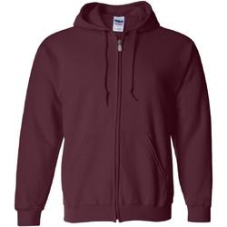 Textiel Heren Sweaters / Sweatshirts Gildan Hooded Marron