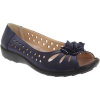 Schoenen Dames Sandalen / Open schoenen Boulevard Casual Marineblauw