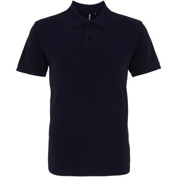 Textiel Heren Polo's korte mouwen Asquith & Fox AQ010 Gewassen marine