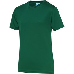 Textiel Kinderen T-shirts korte mouwen Awdis JC01J Fles groen