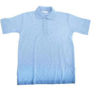 Textiel Jongens Polo's korte mouwen Kustom Kit Superwash Lichtblauw