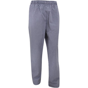Textiel Losse broeken / Harembroeken Dennys Check Marine / Wit