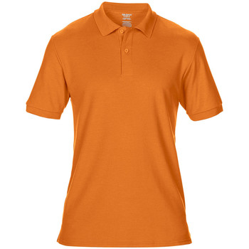 Textiel Heren Polo's korte mouwen Gildan Pique Safety Oranje
