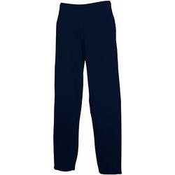 Textiel Heren Trainingsbroeken Fruit Of The Loom 64032 Donker Marine