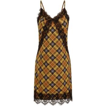 Textiel Dames Korte jurken Girls On Film  Geel