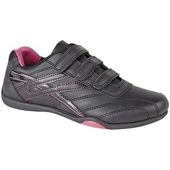 Schoenen Dames Lage sneakers Dek Raven Zwart / Fuchsia