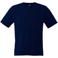 Textiel Dames T-shirts korte mouwen Fruit Of The Loom Original Donker Marine