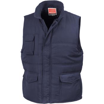 Textiel Heren Vesten / Cardigans Result Showerproof Marineblauw