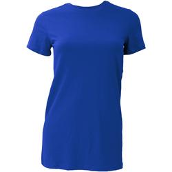 Textiel Dames T-shirts korte mouwen Bella + Canvas BE6004 Echt Koninklijk