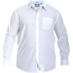 Textiel Heren Overhemden lange mouwen Duke Classic Wit