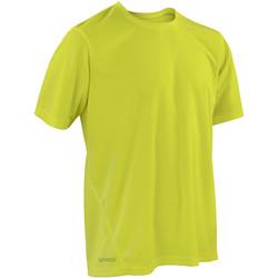 Textiel Heren T-shirts korte mouwen Spiro Performance Kalk groen