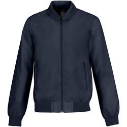 Textiel Heren Wind jackets B And C Trooper Marine / Neon Groen