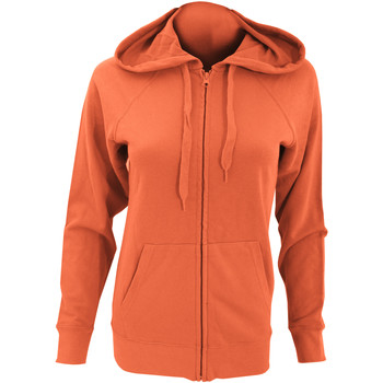 Textiel Dames Sweaters / Sweatshirts Fruit Of The Loom Lightweight Oranje