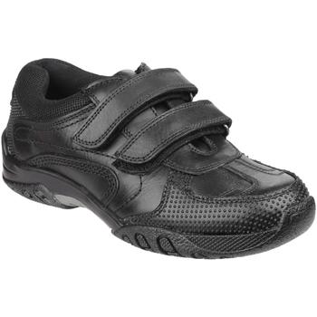 Schoenen Jongens Lage sneakers Hush puppies Jezza Zwart
