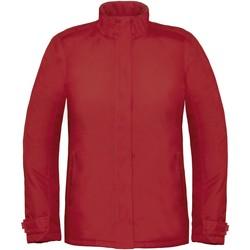 Textiel Dames Windjacken B And C Real+ Diep rood
