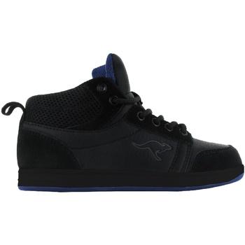 Schoenen Kinderen Hoge sneakers Kangaroos  Zwart/Zwart / Loyaal