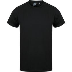 Textiel Kinderen T-shirts korte mouwen Skinni Fit Stretch Zwart