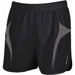 Textiel Heren Korte broeken / Bermuda's Spiro S183X Zwart/Grijs
