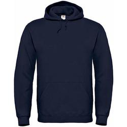 Textiel Heren Sweaters / Sweatshirts B And C Hooded Marine Blauw
