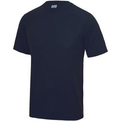 Textiel Kinderen T-shirts korte mouwen Just Cool JC01J Franse marine