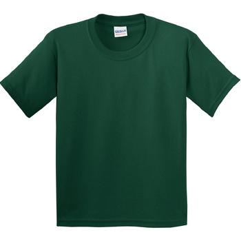 Textiel Kinderen T-shirts korte mouwen Gildan 5000B Bosgroen