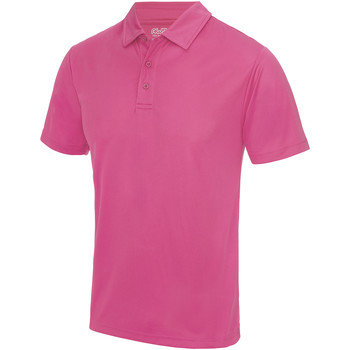 Textiel Heren Polo's korte mouwen Just Cool JC040 Heet Roze