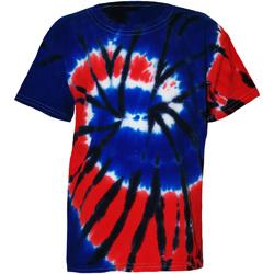 Textiel Kinderen T-shirts korte mouwen Colortone Rainbow Onafhankelijkheid
