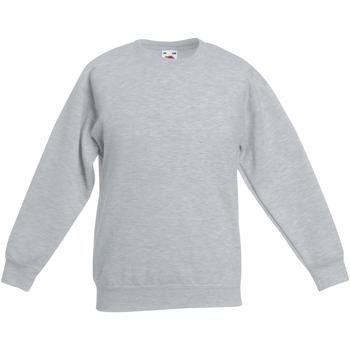 Textiel Kinderen Sweaters / Sweatshirts Fruit Of The Loom Classic Heather Grijs