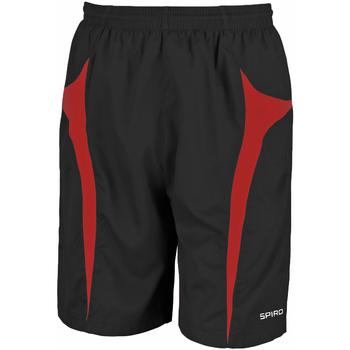 Textiel Heren Korte broeken / Bermuda's Spiro S184X Zwart/Rood