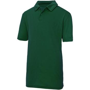 Textiel Kinderen Polo's korte mouwen Just Cool  Fles groen