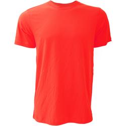 Textiel Heren T-shirts korte mouwen Bella + Canvas Jersey Rood