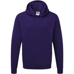 Textiel Heren Sweaters / Sweatshirts Russell Hooded Paars