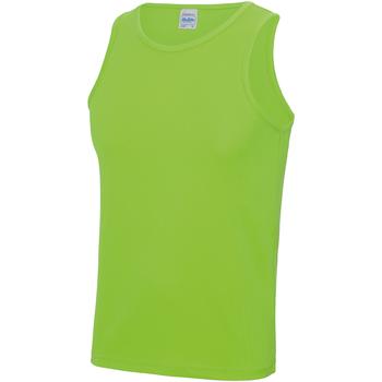 Textiel Heren Mouwloze tops Just Cool JC007 Elektrisch Groen