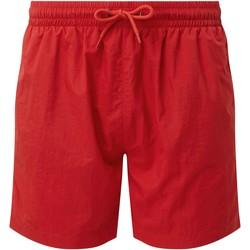 Textiel Heren Korte broeken / Bermuda's Asquith & Fox AQ053 Rood/Rood
